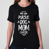 teelaunch T-shirt 2017 Dog Mom Crewneck Shirt