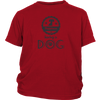 teelaunch T-shirt District Youth Shirt / Red / XS Happiness T Shirt
