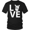 teelaunch T-shirt Gildan Unisex Shirt / Black / S Corgi Love T Shirt