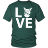 teelaunch T-shirt Gildan Unisex Shirt / Forest / S Corgi Love T Shirt