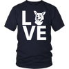 teelaunch T-shirt Gildan Unisex Shirt / Navy / S Corgi Love T Shirt