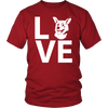 teelaunch T-shirt Gildan Unisex Shirt / Red / S Corgi Love T Shirt