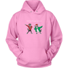 teelaunch T-shirt Unisex Hoodie / Pink / S Holiday Hoodie Sweater