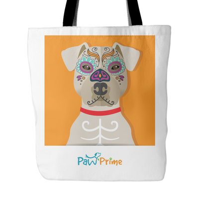teelaunch Tote Bags Pit Bull Colorful Tote