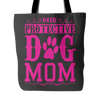 teelaunch Tote Bags Protective Dog Mom Tote