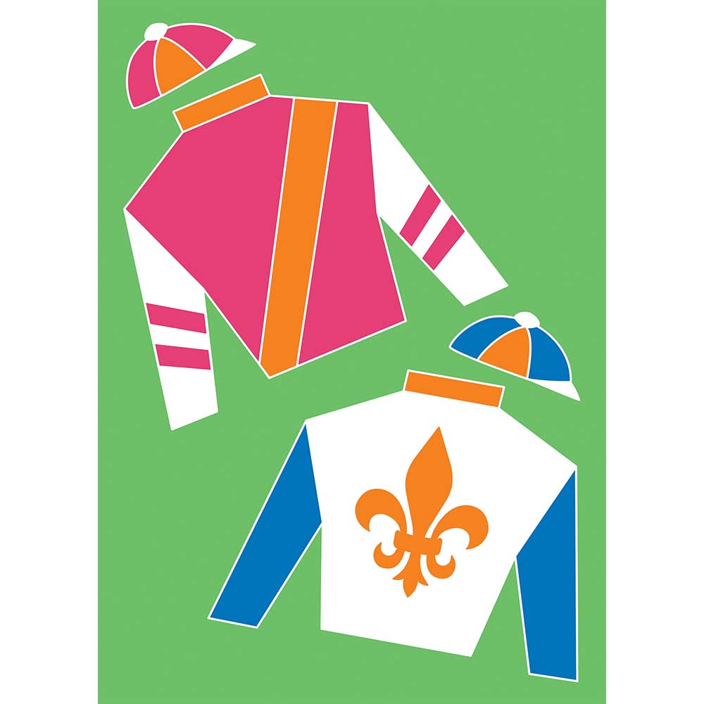 Derby-Fleur de lis Garden Flag-Magnolia Lane-The Bugs Ear