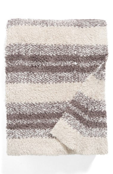Barefoot Dreams Cozychic Heathered Blanket-Barefoot Dreams-The Bugs Ear