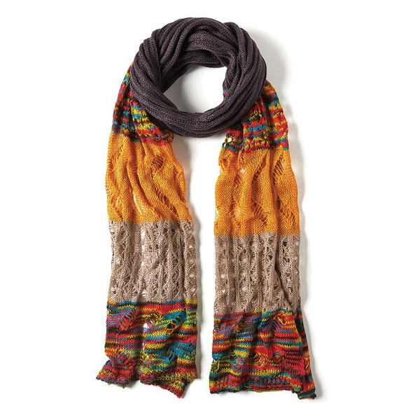 Sundance Scarf Brown-Coco and Carmen-The Bugs Ear