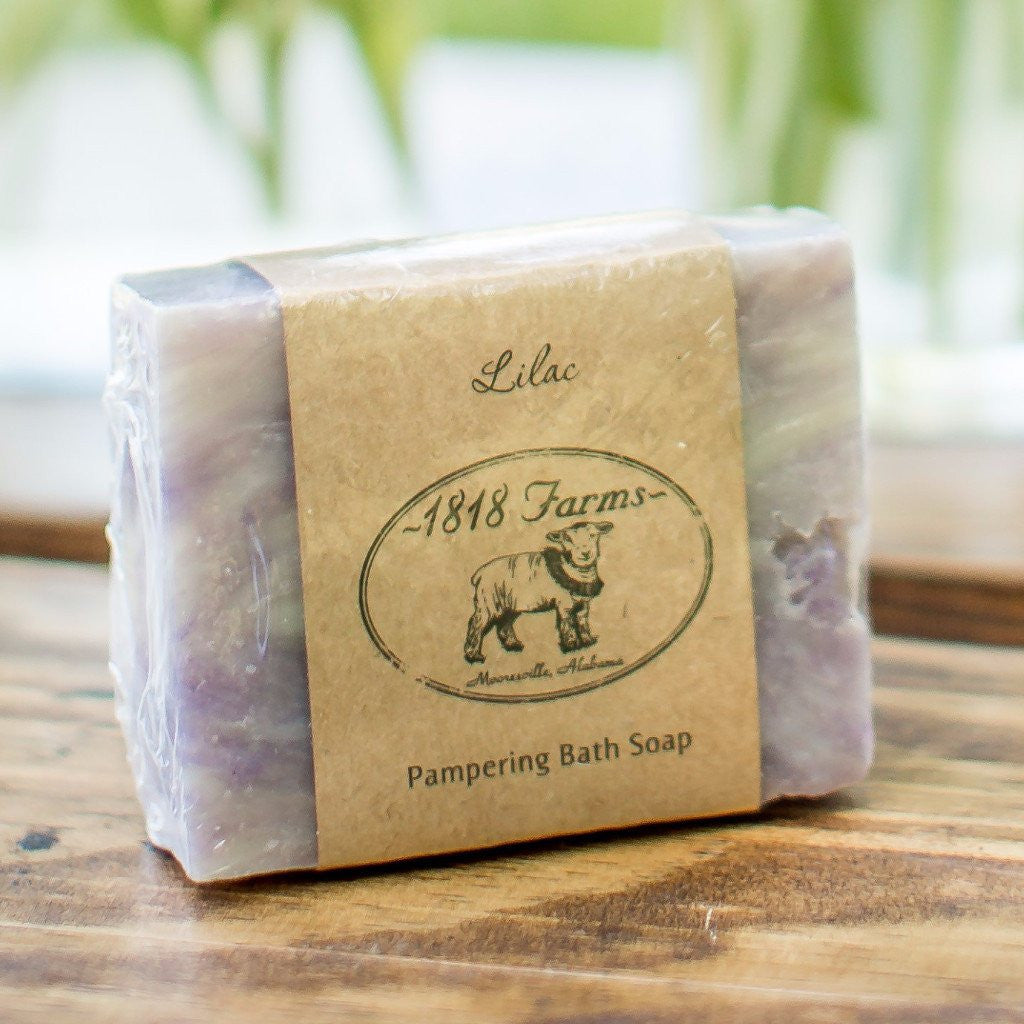Lilac Hand Crafted Soap-1818 Farms-The Bugs Ear