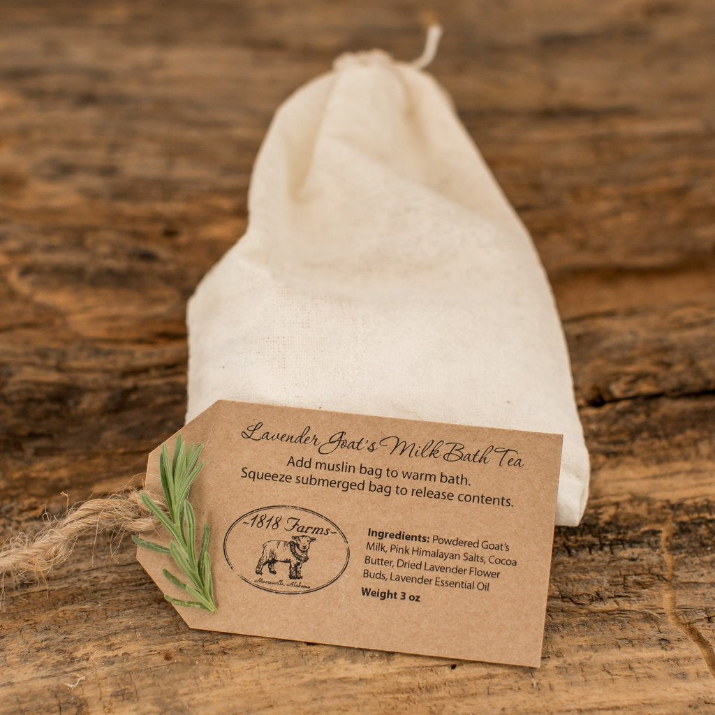 Lavender Goat's Milk Bath Tea-1818 Farms-The Bugs Ear