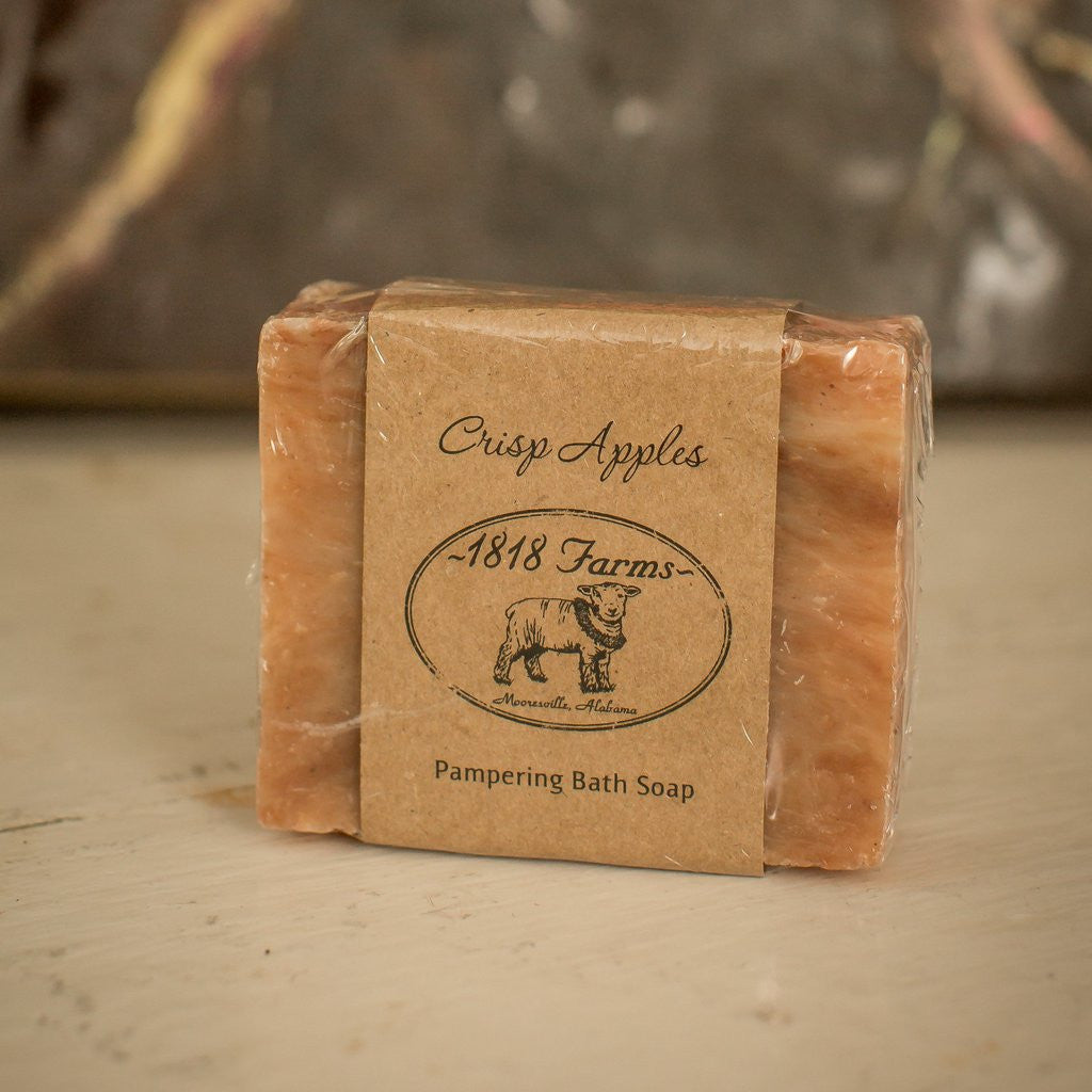 Crisp Apple Hand Crafted Soap-1818 Farms-The Bugs Ear