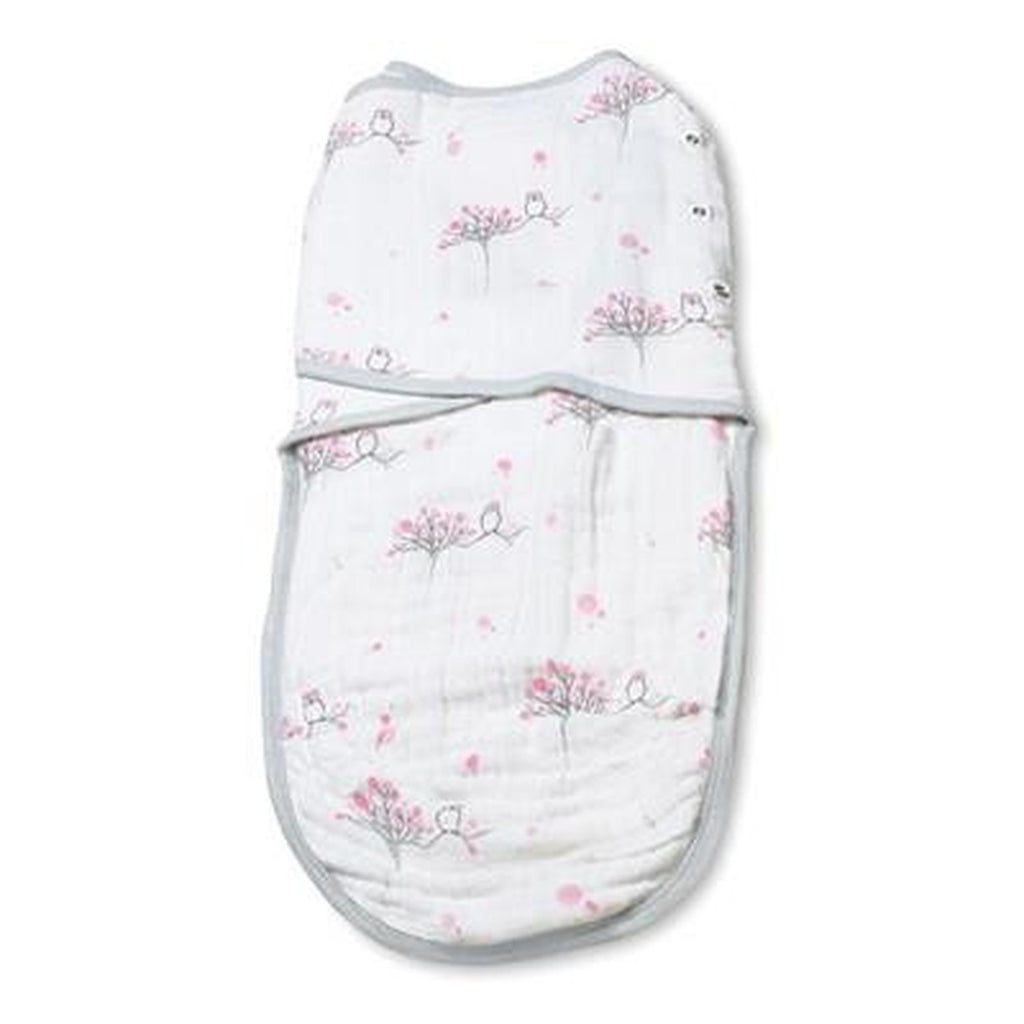 Aden and Anais Classic Easy Swaddle For the Birds Owls Large-Aden + Anias-The Bugs Ear