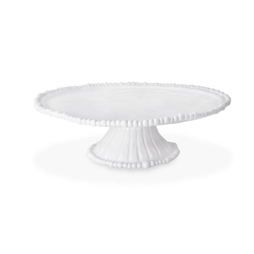 Beatriz Ball Vida Alegria Pedestal Cake Plate White-Beatriz Ball-The Bugs Ear