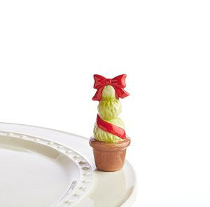 Nora Fleming Mini Red Topiary Garden of Joy-Nora Fleming-The Bugs Ear