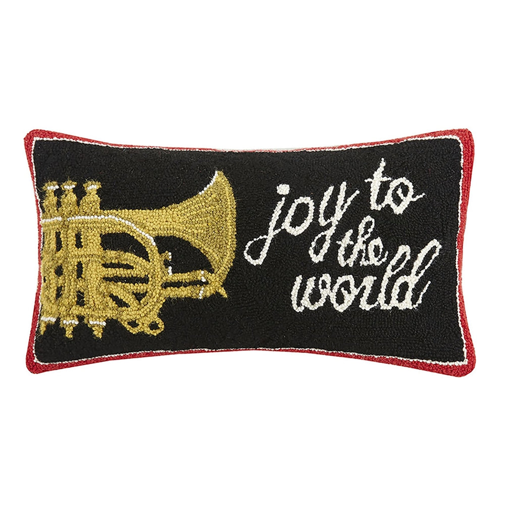 Joy to the World Hook Pillow-Peking Handicraft-The Bugs Ear