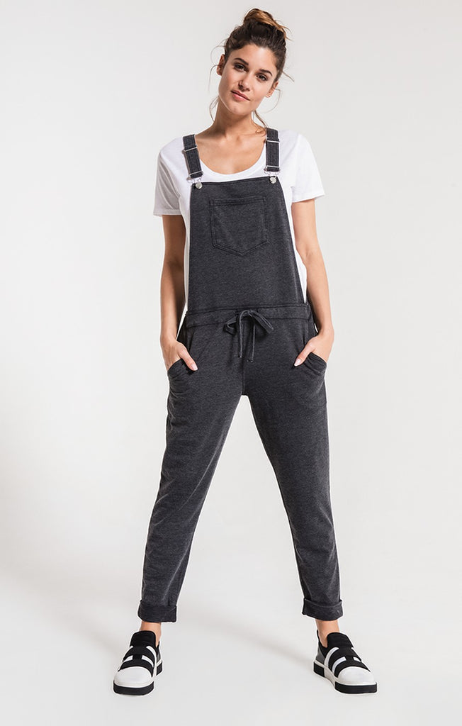 Z Supply The Overalls in Black-Z Supply-The Bugs Ear