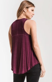 The Vagabond Tank in Mauve Wine-Z Supply-The Bugs Ear