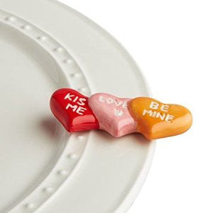 Nora Fleming Mini Conversation Hearts-Nora Fleming-The Bugs Ear