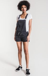 Z Supply The Short Overalls in Black-Z Supply-The Bugs Ear