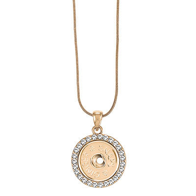 Ginger Snaps Gold Bling Pendant Necklace-Ginger Snaps-The Bugs Ear