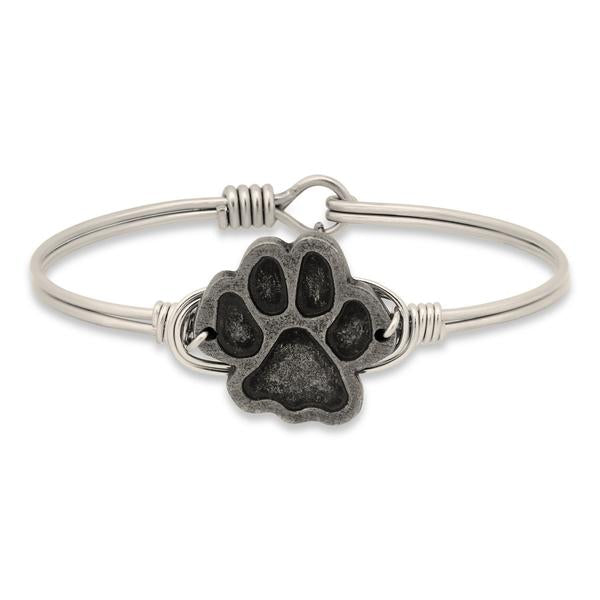 Luca and Danni Paw Print Silver-Luca + Danni-The Bugs Ear
