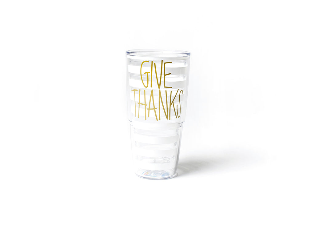 Coton Colors Give Thanks Tervis Tumbler-Coton Colors-The Bugs Ear