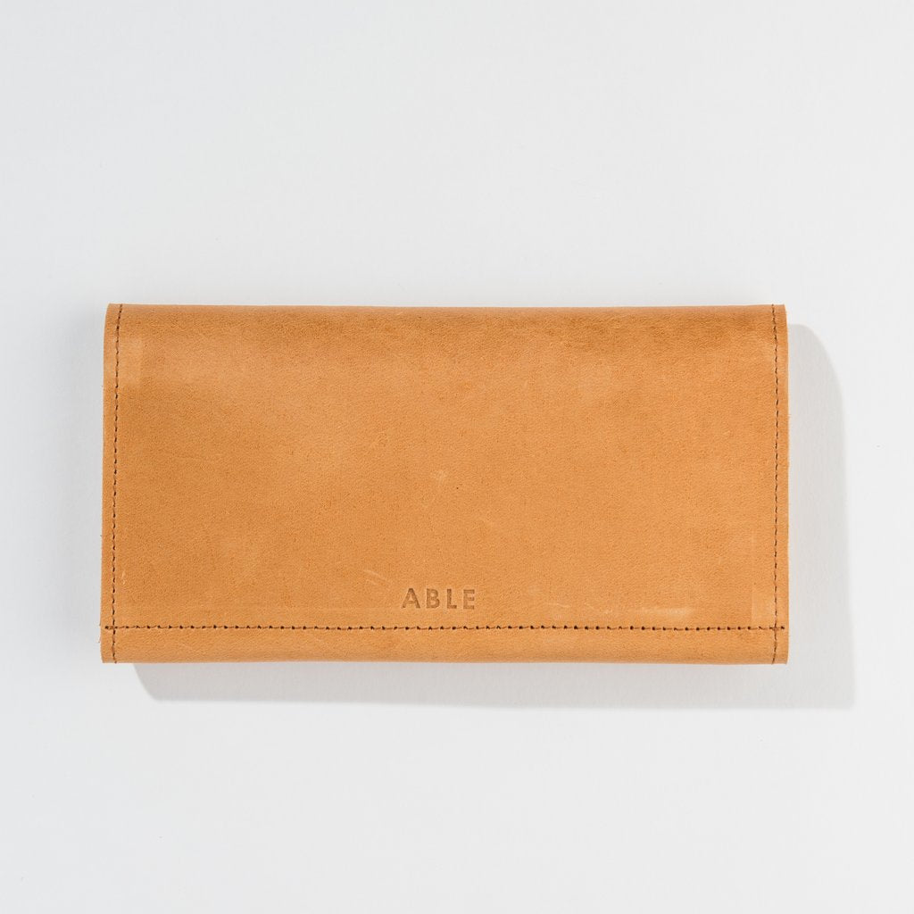 ABLE Debre Wallet in Cognac-ABLE-The Bugs Ear