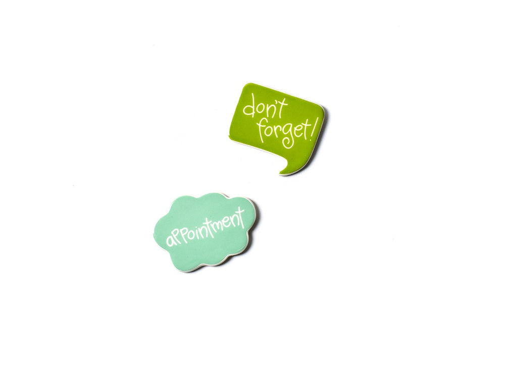Happy Everything Calendar Magnets Appointment Reminders Set-Coton Colors-The Bugs Ear