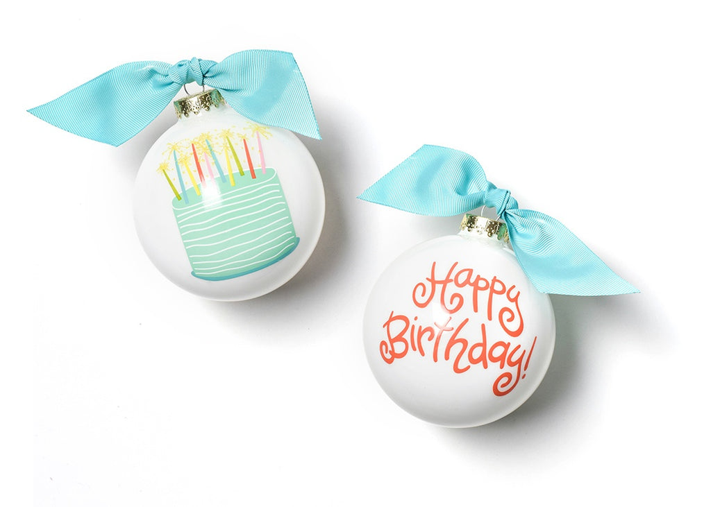 Coton Colors Happy Birthday Ornament-Coton Colors-The Bugs Ear