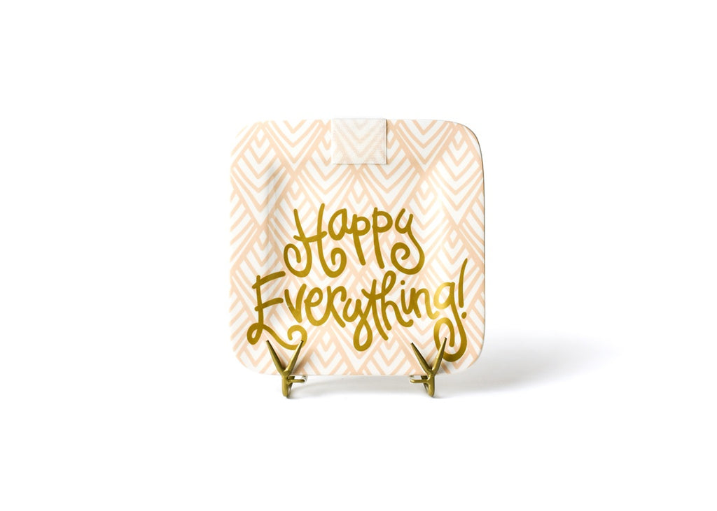 Happy Everything Layered Diamond Mini Happy Everything Square Platter-Coton Colors-The Bugs Ear
