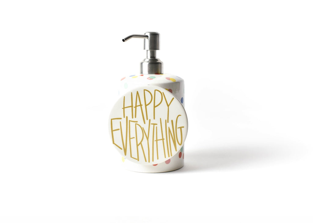 Happy Everything Happy Dot Mini Cylinder Soap Pump-Coton Colors-The Bugs Ear