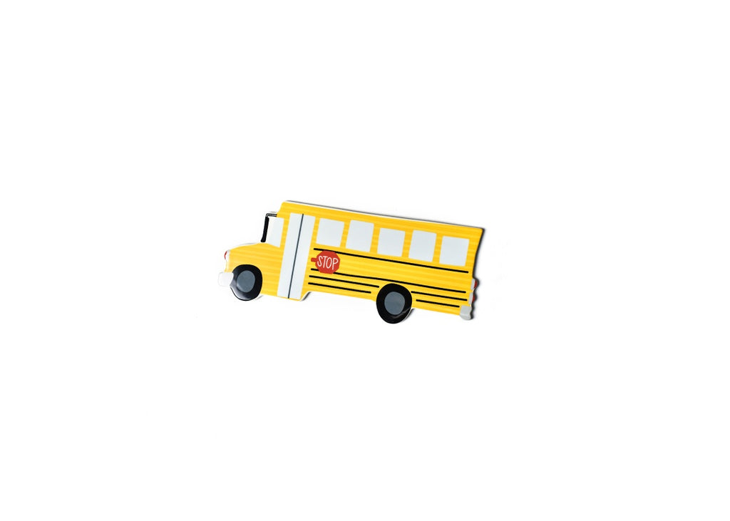 Happy Everything School Bus Mini Attachment-Coton Colors-The Bugs Ear
