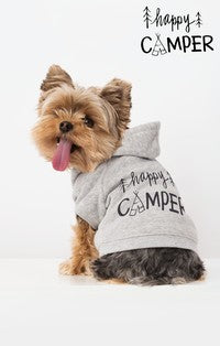 The Happy Camper Fleece Hoodie by Zoo Supply-Z Supply-The Bugs Ear
