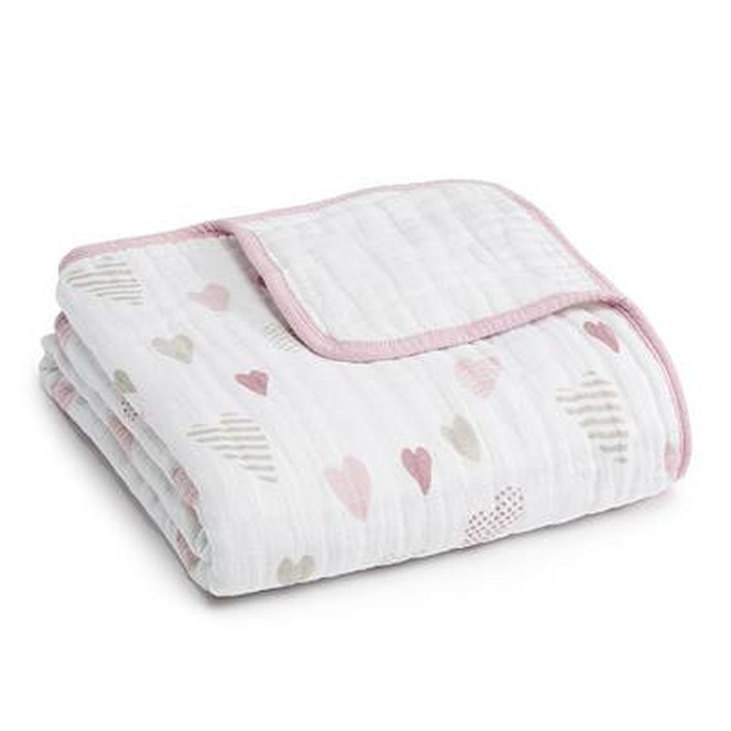 Aden and Anais Dream Blanket Heart Breaker-Aden + Anias-The Bugs Ear