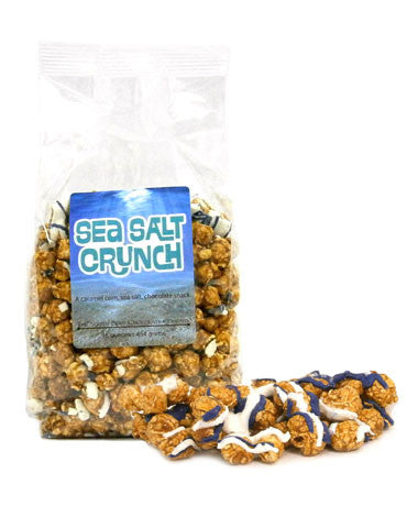 Sea Salt Crunch Caramel Corn-The South Bend Chocolate Company-The Bugs Ear