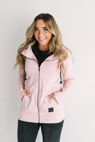Ampersand Ave FullZip Hoodie Pink-Ampersand Ave-The Bugs Ear