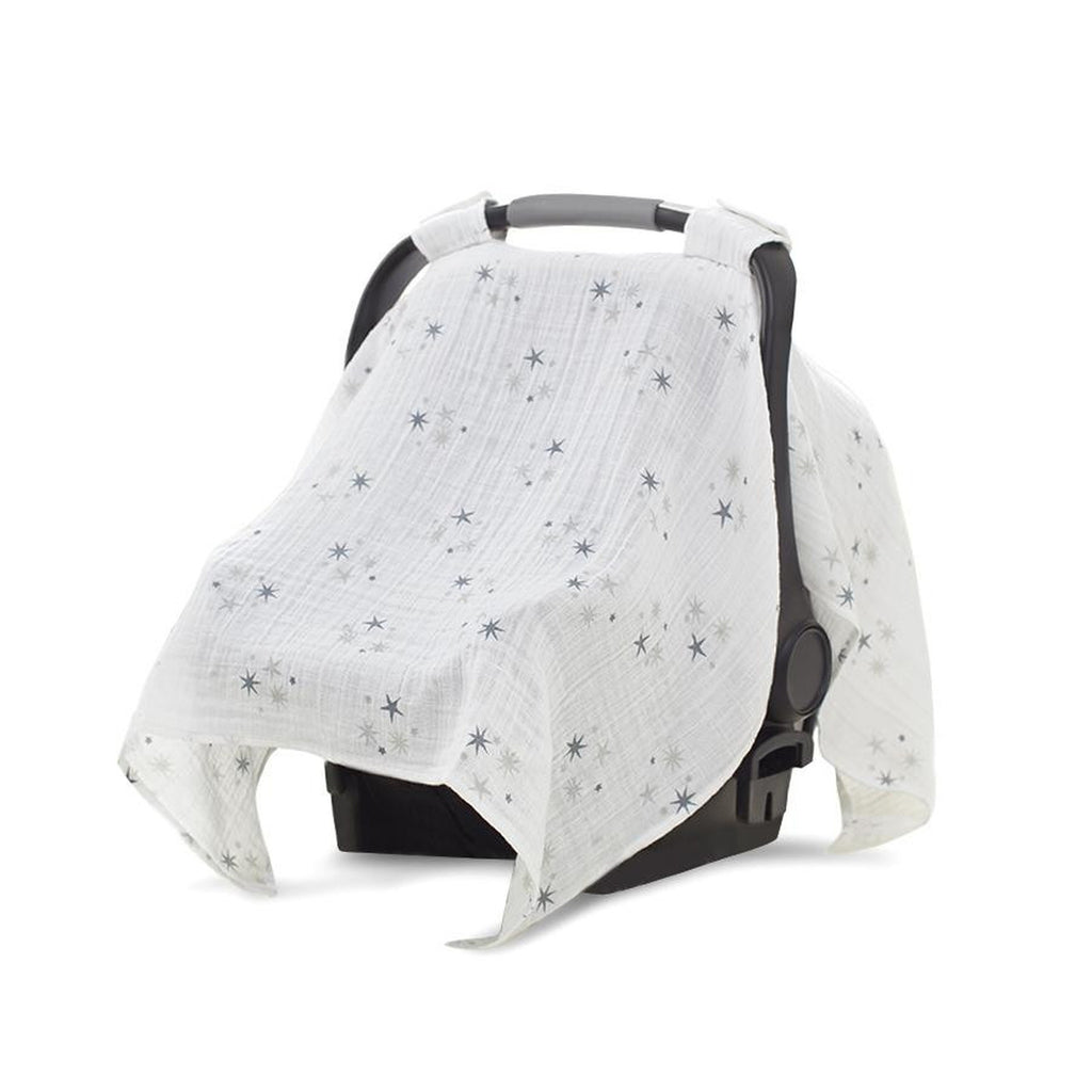 Aden and Anais Car Seat Canopy Twinkle Star Cluster-Aden + Anias-The Bugs Ear