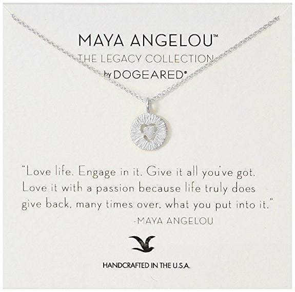 Dogeared Maya Angelou Collection Love Life-Dogeared-The Bugs Ear