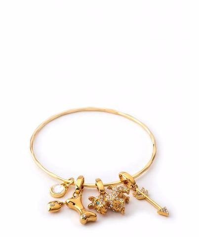 Spartina Skinny Textured Bangle-Spartina-The Bugs Ear