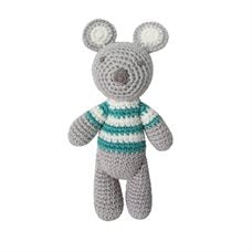 Albetta Crochet Koala Rattle Doll-Empress Arts-The Bugs Ear