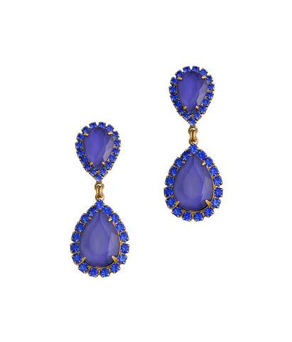 Loren Hope Abba Earrings in Orient Blue-Loren Hope-The Bugs Ear