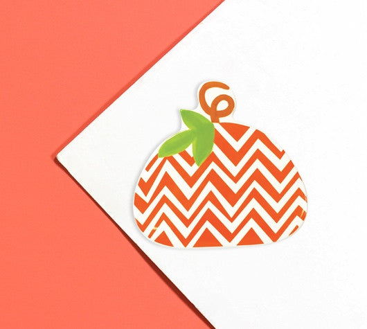 Happy Everything Mini Chevron Pumpkin Attachment-Coton Colors-The Bugs Ear