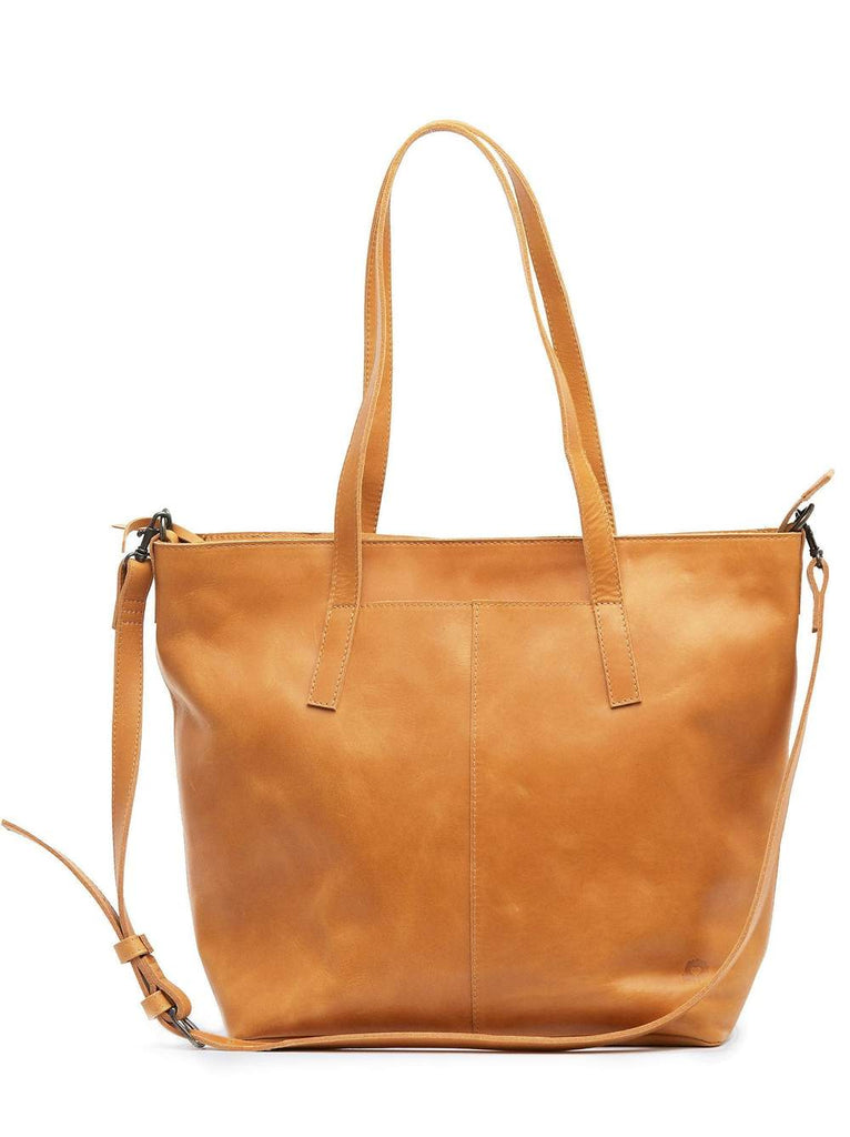 ABLE Alem Utility Bag in Cognac-ABLE-The Bugs Ear