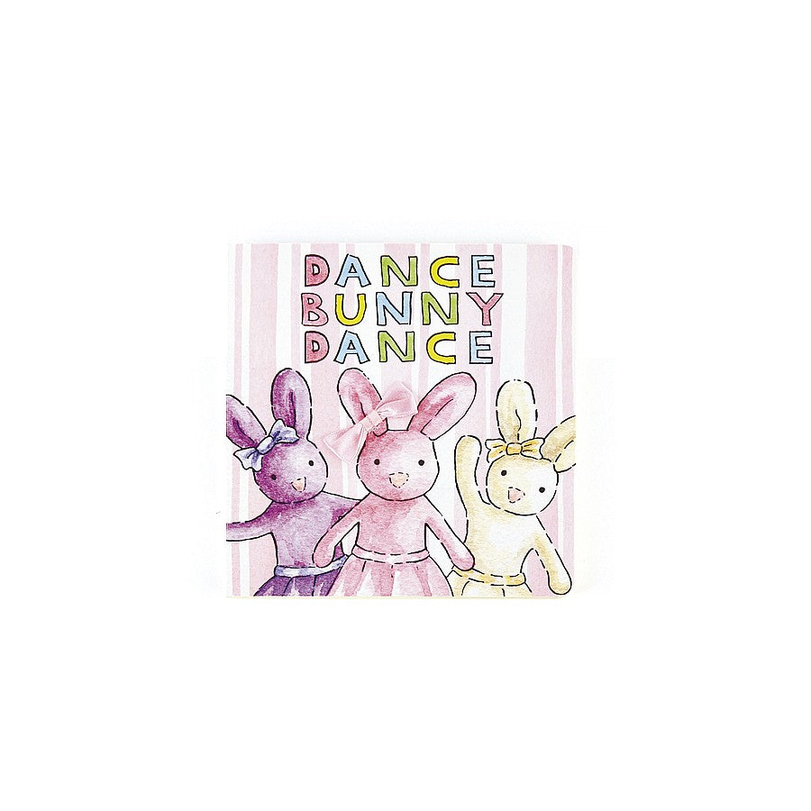 Jellycat Dance Bunny Dance Board Book-Jellycat-The Bugs Ear