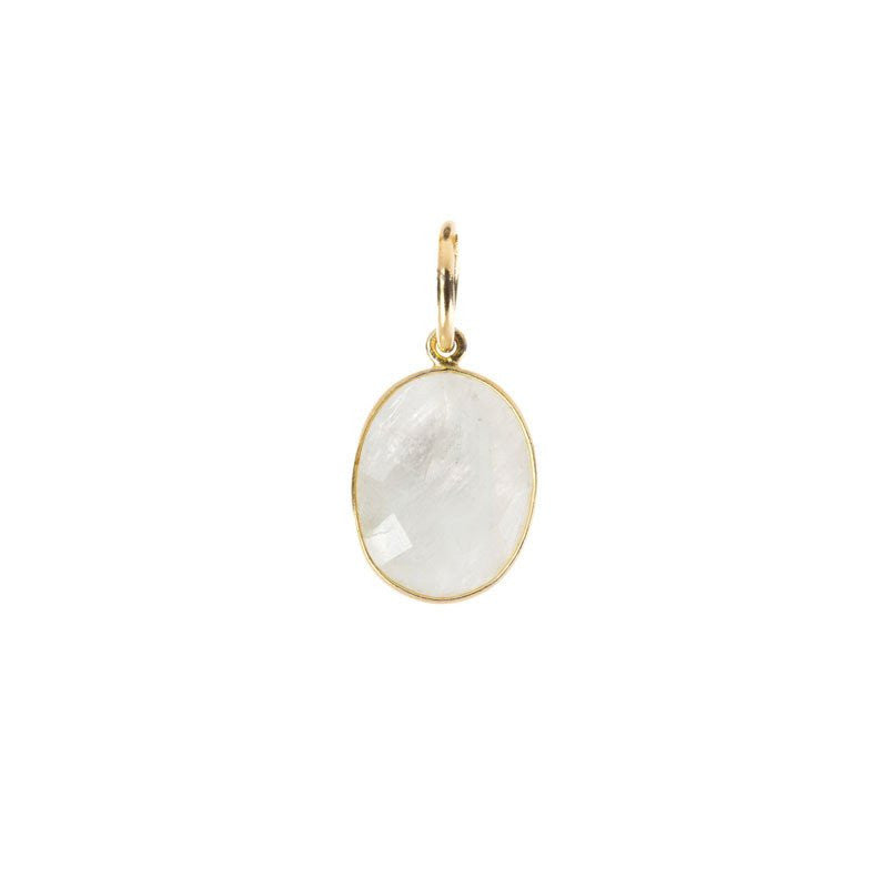 Benny and Ezra Oval Pendant Moonstone-Benny and Ezra-The Bugs Ear