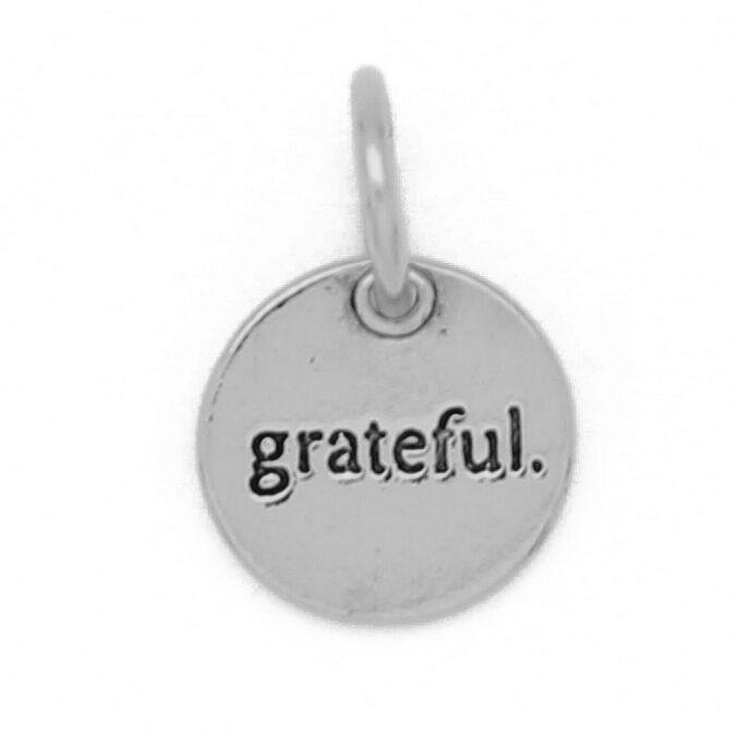 Benny and Ezra Small Silver Circle Pendant Grateful-Benny and Ezra-The Bugs Ear