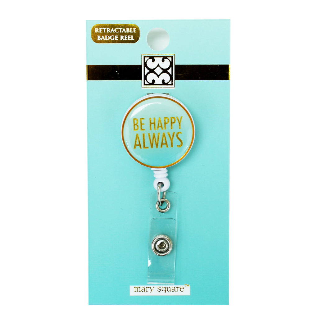 Be Happy Badge Reel-Mary Square-The Bugs Ear