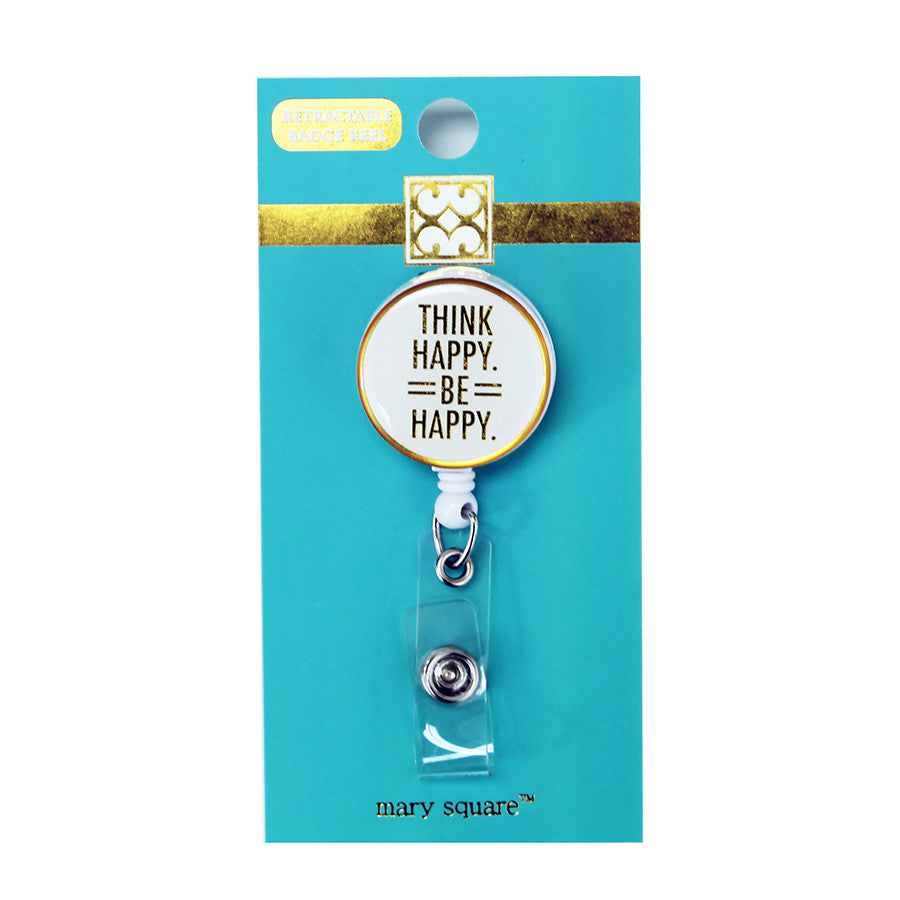 Think Happy Badge Reel-Mary Square-The Bugs Ear