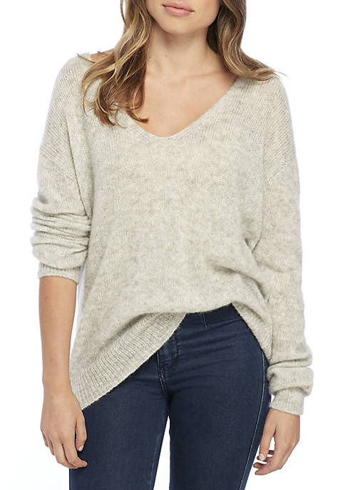 We The Free Free People Catalina Thermal Grey-Free People-The Bugs Ear