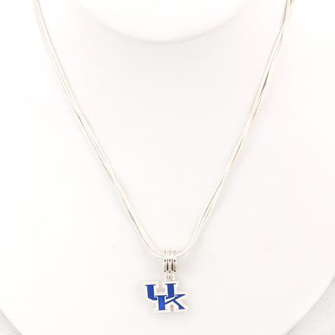 Kentucky Enamel Logo Necklace-Seasons Jewelry-The Bugs Ear